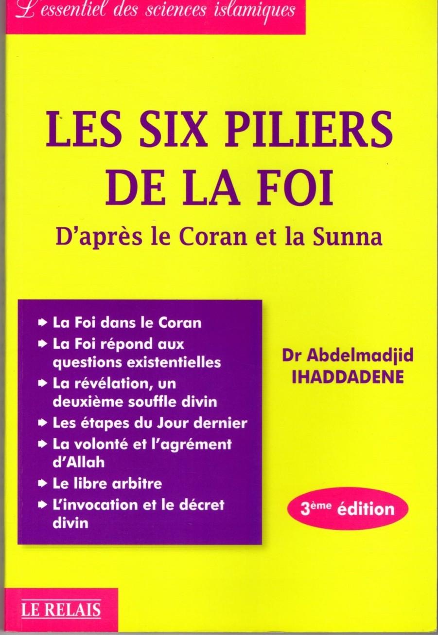 Les Six Piliers De La Foi 3e édit 14€+8€50    TOTAL >