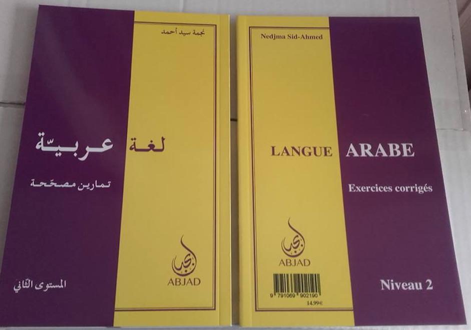 Grammaire- Langue arabe : exercices corrigés ( Tome 2) 15€+8€5 envoi